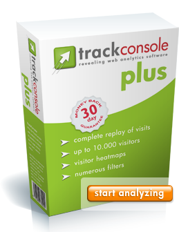 TrackConsole PLUS - web analytics software