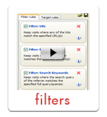 Create filters - web analytics